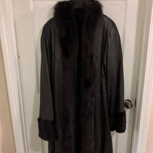4cfa90076 Jackets & Blazers - FINLAND LEATHER REVERSIBLE MINK COAT